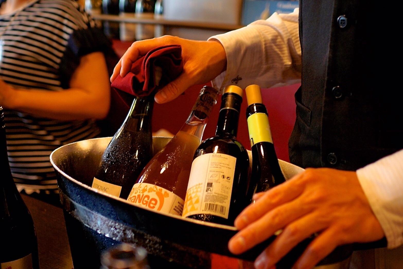 ワインボトル 試飲会 bis Wine Club vol.4
