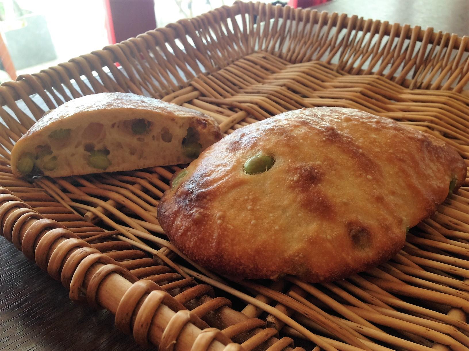 枝豆パン新